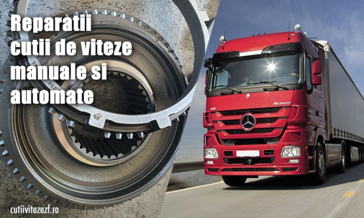reparatii cutii viteze camioane