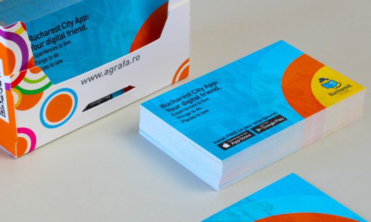 carti de vizita online de la agrafa print